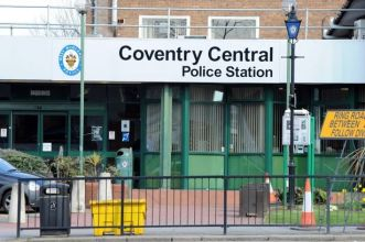 File picture of Coventry Central Police Station
