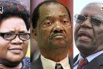 Joice Mujuru, Rugare Gumbo and Didymus Mutasa