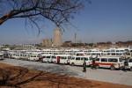 Harare Western Surburbs commuter omnibus holding bay - Picture by Kudakwashe Hunda