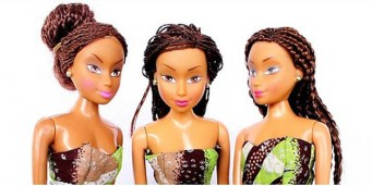 A Nigerian businessman decided to create own doll that Nigerian girls could identify with called Queens of Africa, by recreating their skin colour and style - and now it's outselling Barbie in his native country.