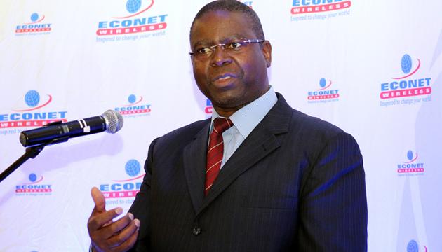 Econet chief executive officer Douglas Mboweni