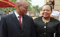 President Zuma and his second wife Nompumelelo Ntuli Photo: GETTY