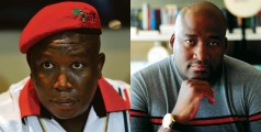 Julius Malema and Gayton McKenzie