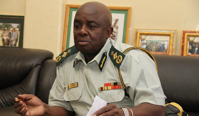Commissioner-General Paradzai Zimondi