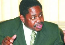 Paul Mangwana, who co-chaired the constitution making body COPAC