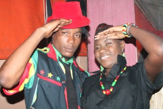 Soul Jah Love and wife Bounty Lisa