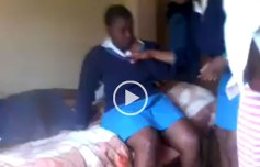 The video of this school girl being bullied went viral on social networks