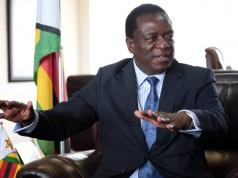 Vice-President Emmerson Mnangagwa