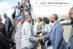 File Picture of President Mugabe and First Lady Grace Mugabe being welcomed at JFK International Airport in September 2014. They were heading to the UN General Assembly in New York