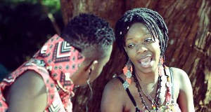 Pah Chihera (right) in the video for the hit song Runonzi Rudo