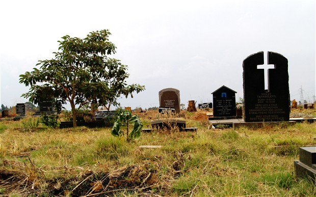 File picture of a cemetery in Zimbabwe