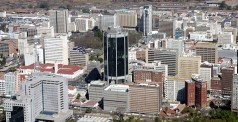 Aerial View of the Harare CBD