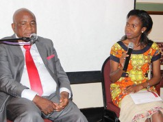Flamboyant businessman Philip Chiyangwa was also one of the speakers