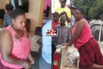 Fortunate Nsoro, allegedly stabbed her husband with three kitchen knives and killed him