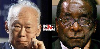 Lee Kuan Yew vs Robert Mugabe