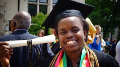 Zimbabwean Nancy Tinoza, 26, of Arlington died after the crash early Sunday morning