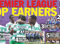 Zimbabwe premier league top earners