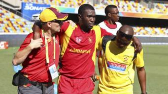Zimbabwe captain Elton Chigumbura has a left leg injury and won't play in his team's next Cricket World Cup match against Ireland