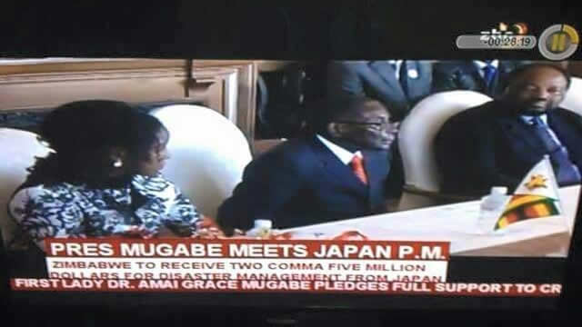 Bona joins Mugabe on Japan trip