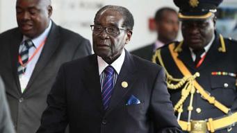 Globe-trotter: President Robert Mugabe