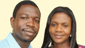 Prophet Walter Magaya and his wife