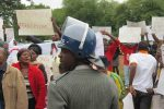 Anti-Xenophobia demo at SA embassy in Harare