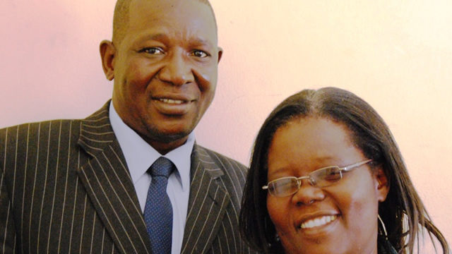 Reverend Aspher Madziyire and wife Josphine