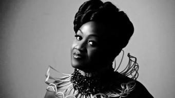 Zimbabwean born, singer/songwriter Cynthia Gentle (Image: NewAge Pictures Edinburgh Collaborated Neck Piece: Laura Nyahuye)