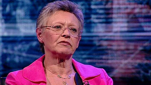 French virologist and 2008 Medicine Nobel Laureate Francoise Barre-Sinoussi