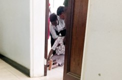 Helen Mugariri's mother collapses on hearing of her daughter's infanticide at the Gweru Magistrates' Courts yesterday