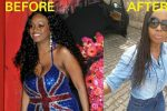 Makosi shows off weight loss transformation