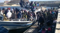 Refugees crossing the Mediterranean in search of a new life in Europe
