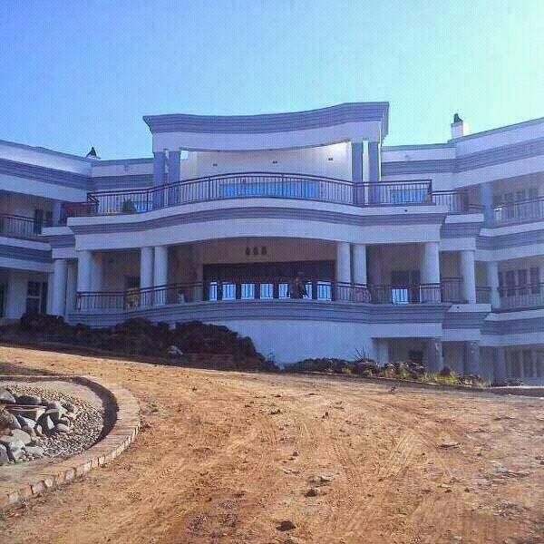 The monstrous mansion that Saviour Kasukuwere is building