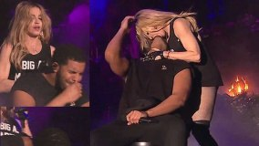 Drake disgusted by Madonna's kiss on stage