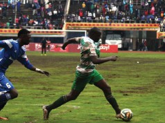 The Uhuru Cup final between Dynamos and FC Platinum had to be abandoned after the lights went off (Picture by the Standard)