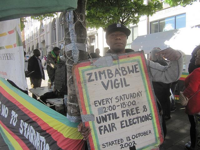Zimbabwe Vigil