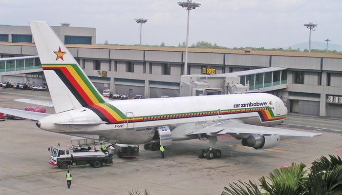 Troubled airline Air Zimbabwe
