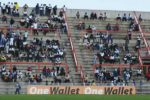 Empankweni stand at Barbourfields Stadium in Bulawayo was less than 50 percent full on Sunday after Highlanders hiked gate charges