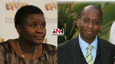 Mavis Gumbo and Terence Mukupe