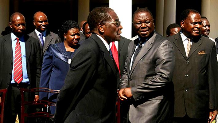 Robert Mugabe vs Morgan Tsvangirai
