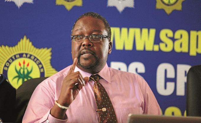 South African Police Minister Nathi Nhleko