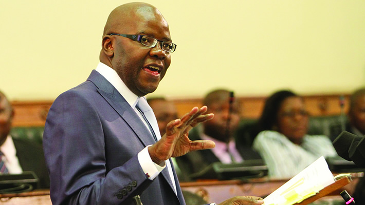 Former Finance minister Tendai Biti