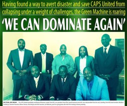 CAPS United unveil new board