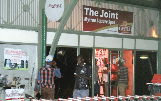 Where it all started . . . The Joint at Nkulumane Complex (Picture by The Chronicle)