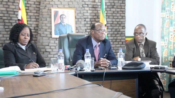 Registrar-General Mr Tobaiwa Mudede