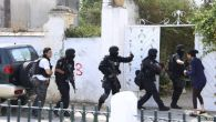 Security forces said there had been no gunfire outside the Bouchoucha barracks