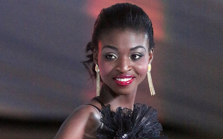 Dethroned Miss Zimbabwe Emily Kachote