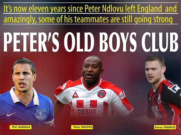 Peter Ndlovu's old boys club in England