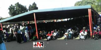 Zimbabweans queuing for asylum in Pretoria, South Africa (Pictures by Nehanda Citizen Reporter)