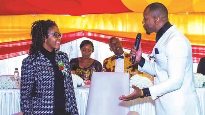 Simba chicory and bona mugabe wedding pictures
